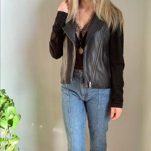 Helmut Lang leather jacket M medium